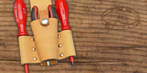 leather tool holders for tool belts